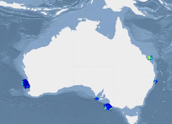Map Of Australia Radar.Ocean Radar Imos Org Au