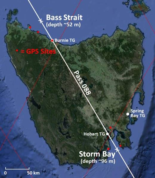 The comparison points at Bass Strait and Storm Bay are the primary deployment locations for this sub-facility.